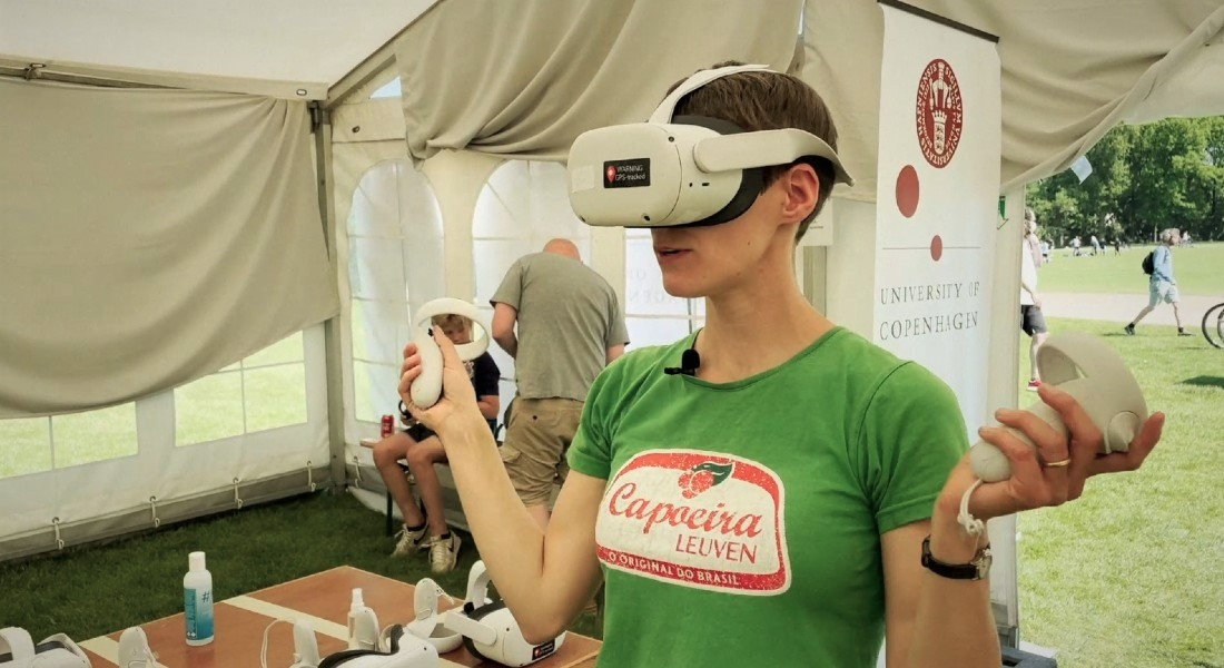 VR-eksperiment