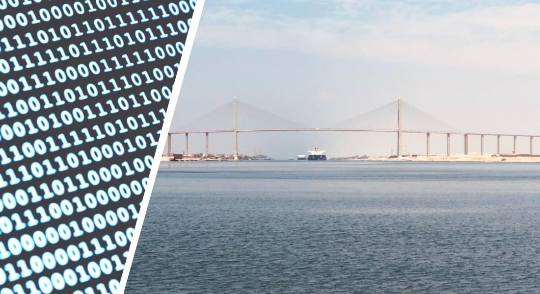 Fra digitale teknologier til verdenshave, illustration
