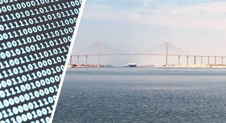 Digital sovereignty and oceans - illustration